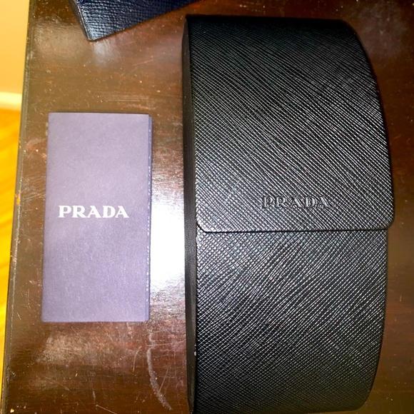 Prada sunglasses case and box